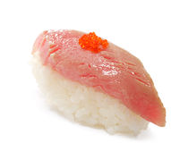 Japanese Cuisine - Tuna Sushi Royalty Free Stock Image