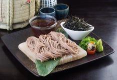 Japanese cuisine. udon on the background Stock Photo