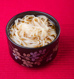 Japanese cuisine. udon on the background Royalty Free Stock Photography