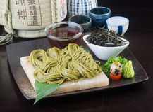Japanese Cuisine. Udon On The Background Stock Images