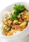 Japanese Cuisine - Warm Salad Royalty Free Stock Photos