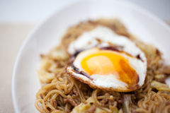Japanese Cuisine Yakisoba Royalty Free Stock Photo