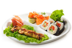 Japanese Cuisine - Yakitori Stock Photo
