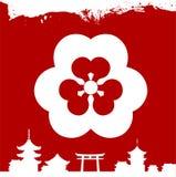 Japanese cultural ornaments. National ornaments of Japan. Decorative Japanese cultural ornaments. National ornaments of Japan Stock Photography