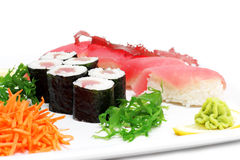 Japanese Culture - Tuna Set Stock Image