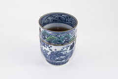 Japanese cup of tea Stock Photography