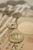 Japanese currency Royalty Free Stock Photography