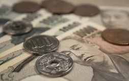 Japanese Currency Stock Photography