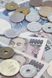 Japanese currency Royalty Free Stock Images