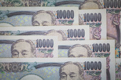 Japanese currency yen Royalty Free Stock Photography
