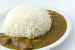 Japanese Curry Rice Stock Photography