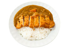 Japanese curry ricepork. Pic of japanese curry ricepork Stock Image