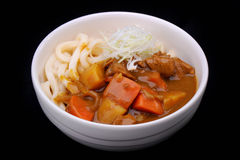 Japanese curry Udon noodles Stock Image