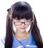Japanese cute teen school girl Royalty Free Stock Photography