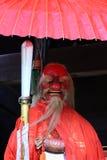 Japanese daemon Tengu& at shrine, Kyoto Japan Royalty Free Stock Images