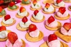 Japanese daifuku sweets Stock Photo