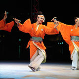 Japanese dancer Stock Photography