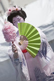 Japanese Dancer Royalty Free Stock Photography