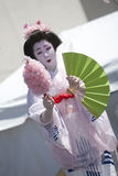 Japanese Dancer Royalty Free Stock Photos