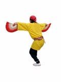 Japanese dancer-clipping path Stock Photos