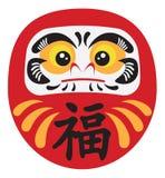 Japanese Daruma Doll Vector Illustration Royalty Free Stock Photography