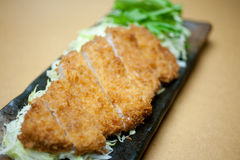 Japanese Deep Cutlet Tonkatsu Stock Image