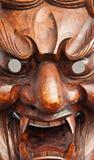 Japanese demon mask Stock Photos