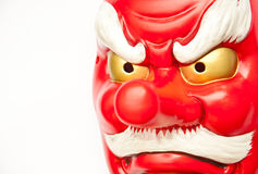 Japanese demon mask Royalty Free Stock Images
