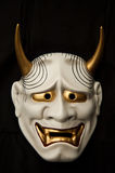 Japanese demon mask Stock Photo