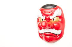Japanese demon mask-Tengu Stock Photos