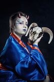 Japanese demon Stock Photos