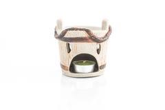 Japanese design tea light holder stock images