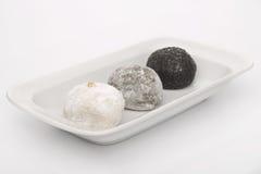Japanese dessert Mochi Stock Images