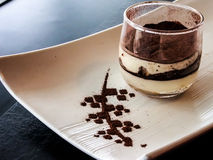 Japanese dessert tiramisu Stock Photos