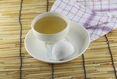 Japanese desserts made of sticky rice. Stock Image