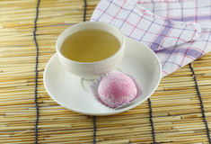 Japanese desserts made of sticky rice. Royalty Free Stock Photography