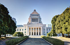 Japanese Diet House Stock Photo