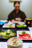 Japanese dinner Royalty Free Stock Photography