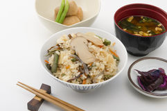 Japanese dish royalty free stock images