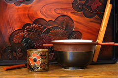 Japanese Dishes Stock Photos