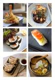 Japanese dishes Stock Image