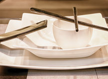 Japanese dishware Stock Photo