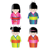 Japanese doll Stock Image