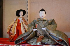 Japanese doll Royalty Free Stock Photos
