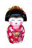 Japanese doll stucco Royalty Free Stock Image
