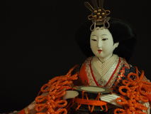 Japanese doll. Royalty Free Stock Images