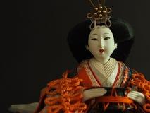 Japanese doll. Royalty Free Stock Photo