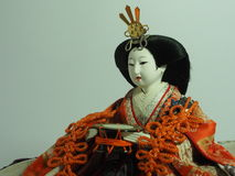 Japanese doll. Royalty Free Stock Photography