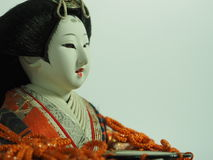 Japanese doll. Stock Photography