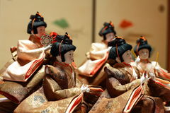 Japanese dolls Royalty Free Stock Photos